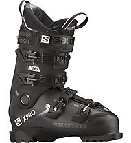 Salomon X PRO 100 - scarpone sci allmountain, Black