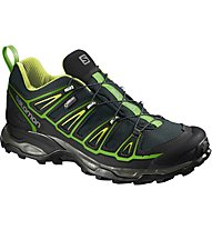Salomon X Ultra 2 GTX Herren Wanderschuh, Green/Black