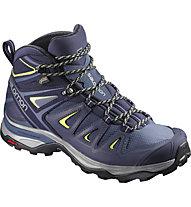 Salomon X Ultra 3 Mid GTX - scarpe trekking - donna, Blue