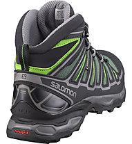 Salomon X Ultra Mid 2 GORE-TEX Scarpe da trekking, Beetle Green/Black/Spring Green