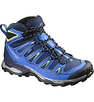 Salomon X Ultra Mid 2 GTX Wom Scarpe da trekking donna, Blue Depth