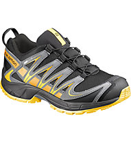 Salomon XA Pro 3D CSWP Kid/Junior, Black/Pearl Grey/Bee-X