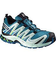 Salomon XA Pro 3D GTX Women Damen Trailrunningschuh, Fog Blue/Igloo Blue/Tonic Green