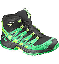 Salomon XA Pro 3D Mid CSWP Kid/Junior, Black/Real Green/Granny Green