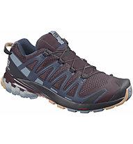 Salomon Xa Pro 3D v8 - scarpe trail running - donna, Dark Red/Blue