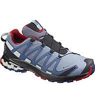 Salomon Xa Pro 3D v8 GTX - scarpe trail running - uomo, Light Blue/Red