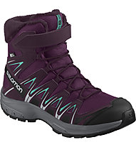 Salomon XA PRO 3D Winter TS CSWP Jr - scarpa invernale - bambino, Dark Purple