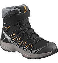 Salomon XA PRO 3D Winter TS CSWP Jr - scarpa invernale - bambino, Black/Grey