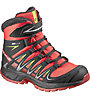 Salomon XAPro 3D Winter - scarpe da trekking - bambino, Red/Black