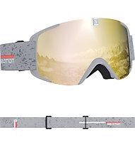 Salomon XView - Skibrille, Light Grey