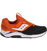 Saucony Grid 9000 ffi Scarpa tempo libero, Orange/Black