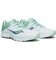 Saucony Guide Iso W - scarpe running stabili - donna, White/Blue