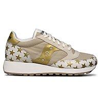 Saucony Jazz Originals Triple Special - Sneaker - Damen, Beige/Gold