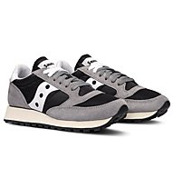 Saucony Jazz Originals Vintage - Sneaker Freizeit - Damen, Grey/Black