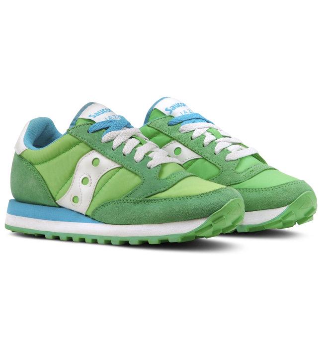 Saucony Jazz O' Woman - Sneaker - Damen, Green/White