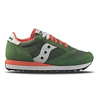 Saucony Jazz O' W - Sneaker Freizeit - Damen, Green/Orange