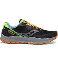 Saucony Peregrine 11 - scarpa trailrunning - uomo, Black/Orange