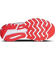 Saucony Ride 10 W - scarpe running neutre - donna, White/Red/Grey