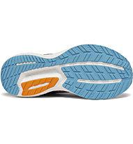 Saucony Triumph 18 W - Neutrallaufschuh - Damen, Blue/Black/Orange
