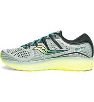 Saucony Triumph ISO5 - scarpe running neutre - uomo, Grey/Green