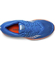 Saucony Triumph ISO5 - Laufschuhe Neutral - Herren, Blue/Orange