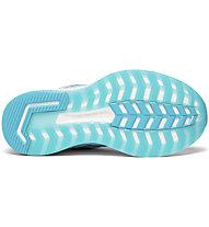 Saucony Triumph Iso 5 W - scarpe running neutre - donna, Light Blue/Grey