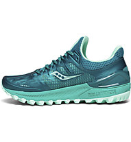 Saucony Xodus Iso 3 W - scarpe trail running - donna, Green/Blue