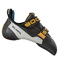 Scarpa Booster - Kletter- und Boulderschuh - Herren, Black/Orange