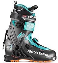Scarpa F1 WMN - scarpone scialpinismo - donna, Black/Blue