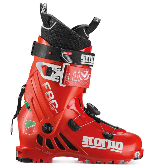 Scarpa F80 Limited Edition - Skitourenschuh, Red/White/Green