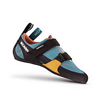 Scarpa Force V - scarpette da arrampicata - donna, Blue