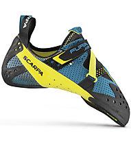 Scarpa Furia Air - Kletter- und Boulderschuh - Herren, Blue/Yellow