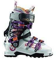 Scarpa Gea RS Skitouren-/Freerideschuh, White/Black/Lipgloss