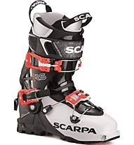 Scarpa Gea RS - scarpone scialpinismo - donna, Black/White/Red