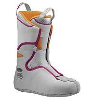 Scarpa Gea RS scarpone scialpinismo/freeride, White/Black/Lipgloss