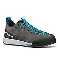 Scarpa Gecko M - Zustiegschuh - Herren, Grey/Light Blue
