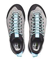 Scarpa Gecko - Zustiegschuh - Damen, Grey/Light Blue