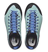 Scarpa Gecko - Zustiegschuh - Damen, Light Blue/Blue