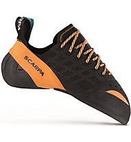 Scarpa Instinct Lace - scarpette da arrampicata - uomo, Black/Orange