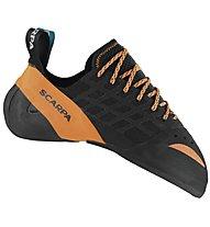 Scarpa Instinct Lace - scarpette da arrampicata - uomo, Black/Orange