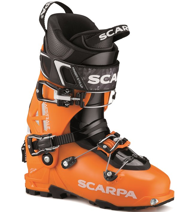 Scarpa Maestrale 2 - Skitourenschuh, Orange/Black