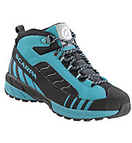 Scarpa Mescalito Mid Kid GTX - scarpa da trekking - bambino, Light Blue