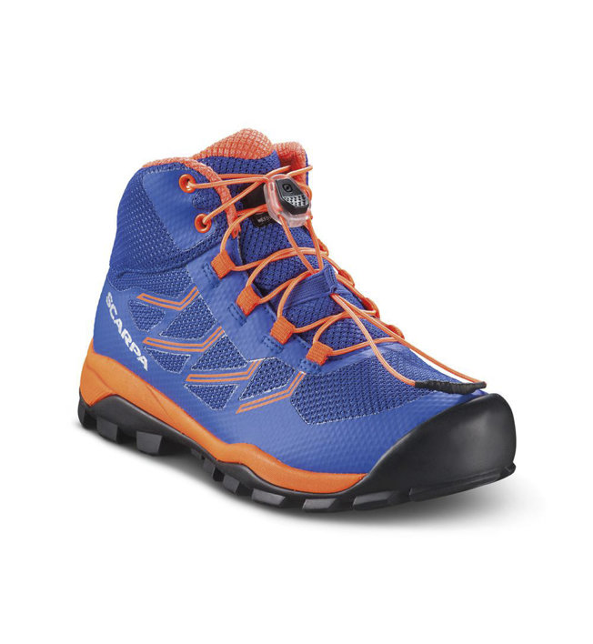 Scarpa Neutron Mid Kid - Wandernschuh - Kinder, Blue/Orange