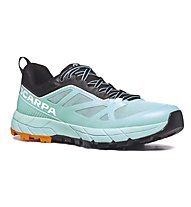 Scarpa Rapid W - scarpe da avvicinamento - donna, Light Blue/Orange