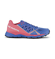 Scarpa Spin RS - scarpe trail running - donna, Blue/Red