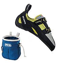 Scarpa Vapor V - scarpetta arrampicata, Lime Fluo