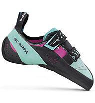 Scarpa Vapor V - scarpe arrampicata e boulder - donna, Green