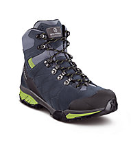 Scarpa ZG Trek GTX - Trekkingstiefel - Herren, Dark Blue/Grey/Lime