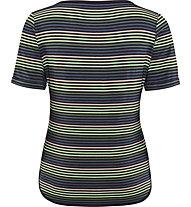 schneider sportswear Franzyw - T-shirt - donna, Green/Black/Rose