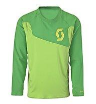 Scott AMT L/S Shirt, Green/Lime Green